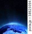 ヨーロッパ ライト 光のイラスト 38625094
