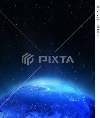 North Russia city lights 3d rendering 38625101