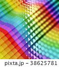 レインボー 虹 立体のイラスト 38625781