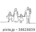 ベクトル こども達 子のイラスト 38628839