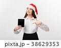 タブレット ビジネス 女の写真 38629353