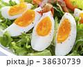 野菜サラダ ゆで卵 タマゴサラダの写真 38630739