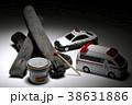 事件現場 パトカーと救急車 38631886