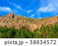 八ヶ岳連峰と青空 38634572