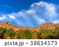 八ヶ岳連峰の稜線と青空 38634573
