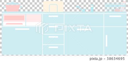 システムキッチン-IHコンロ 38634695