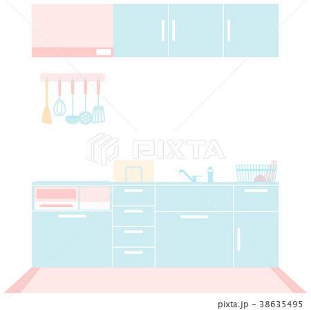 システムキッチン-IHコンロ 38635495