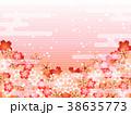 桜 春 フレームのイラスト 38635773