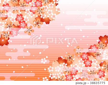 桜の背景 38635775