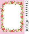 薔薇のフレーム 38638319