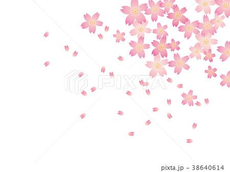 桜の背景 38640614