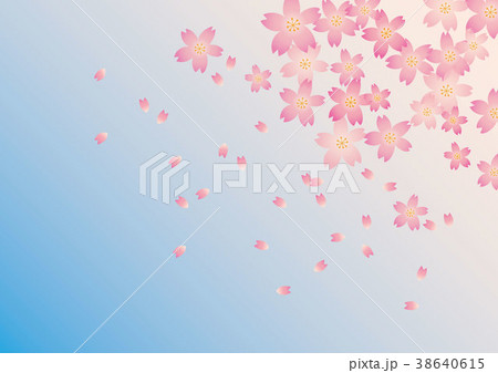桜の背景 38640615