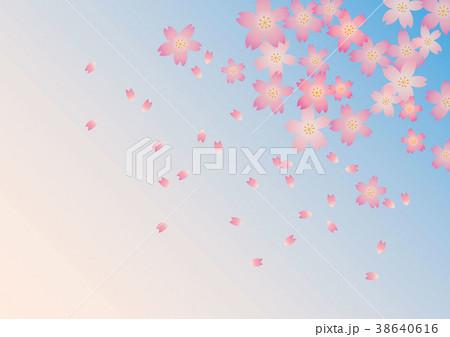 桜の背景 38640616