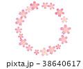 桜のフレーム 38640617