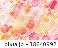 背景 和紙 春のイラスト 38640992