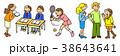 人物 学校生活 授業 テニス 英会話 留学 制服 外国人 部活動 スポーツ 38643641