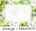 背景-花-フレーム 38643970