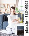 若い女性(ワイン) 38646592
