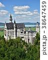 ノイシュヴァンシュタイン城 建物 ドイツの写真 38647459