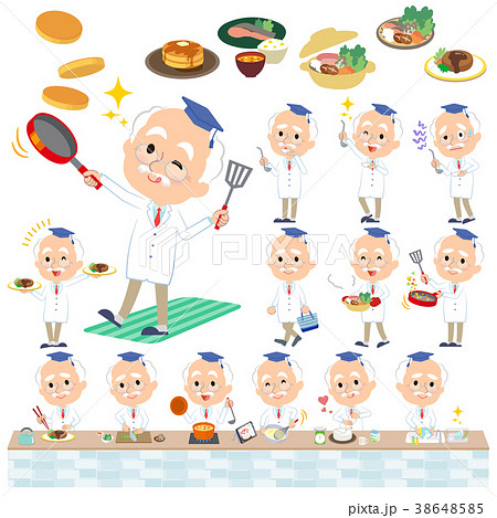 Research Doctor old men_cooking 38648585