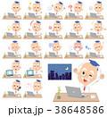 男性 人物 博士のイラスト 38648586