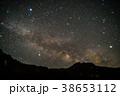 八ヶ岳と夏の天の川 38653112