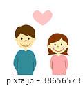 夫婦 ハート 38656573