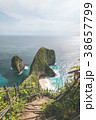 Stairs Path To Kelingking Beach from Karang Dawa 38657799