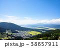 野沢温泉村 風景 町並みの写真 38657911