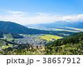 野沢温泉村 風景 町並みの写真 38657912