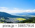 野沢温泉村 風景 町並みの写真 38657916