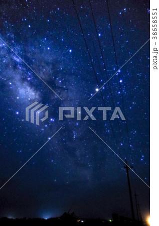 沖縄 黒島の星空 38658551