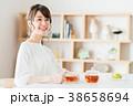 若い女性(紅茶) 38658694