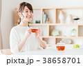紅茶 ティータイム くつろぐの写真 38658701