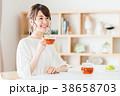 紅茶 ティータイム くつろぐの写真 38658703