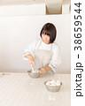 女性 人物 料理の写真 38659544