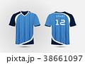 スポーツ アメリカンフットボール サッカーのイラスト 38661097