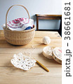 モチーフ編みとチーズケースとカゴ 38661681