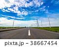 オロロンライン 北海道 道の写真 38667454