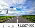 オロロンライン 北海道 道の写真 38667455