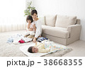 母親 赤ちゃん 人物の写真 38668355