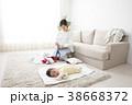 母親 赤ちゃん 人物の写真 38668372