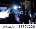 Blur background live stage music. 38671229