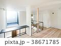 新築一戸建て インテリア 二階 吹き抜け上部  38671785