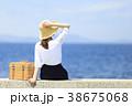 女性 海 旅行の写真 38675068