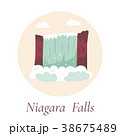Niagara Falls. Natural landmark of Canada and USA 38675489