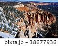 早春のコロラド高原・ブライスキャニオン・レインボーポイント 38677936