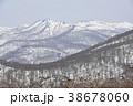 早春の山・泉ヶ岳から望む早春の船形山連峰 38678060