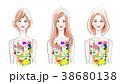 女性 人物 20代のイラスト 38680138