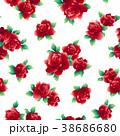 薔薇 花 花柄のイラスト 38686680